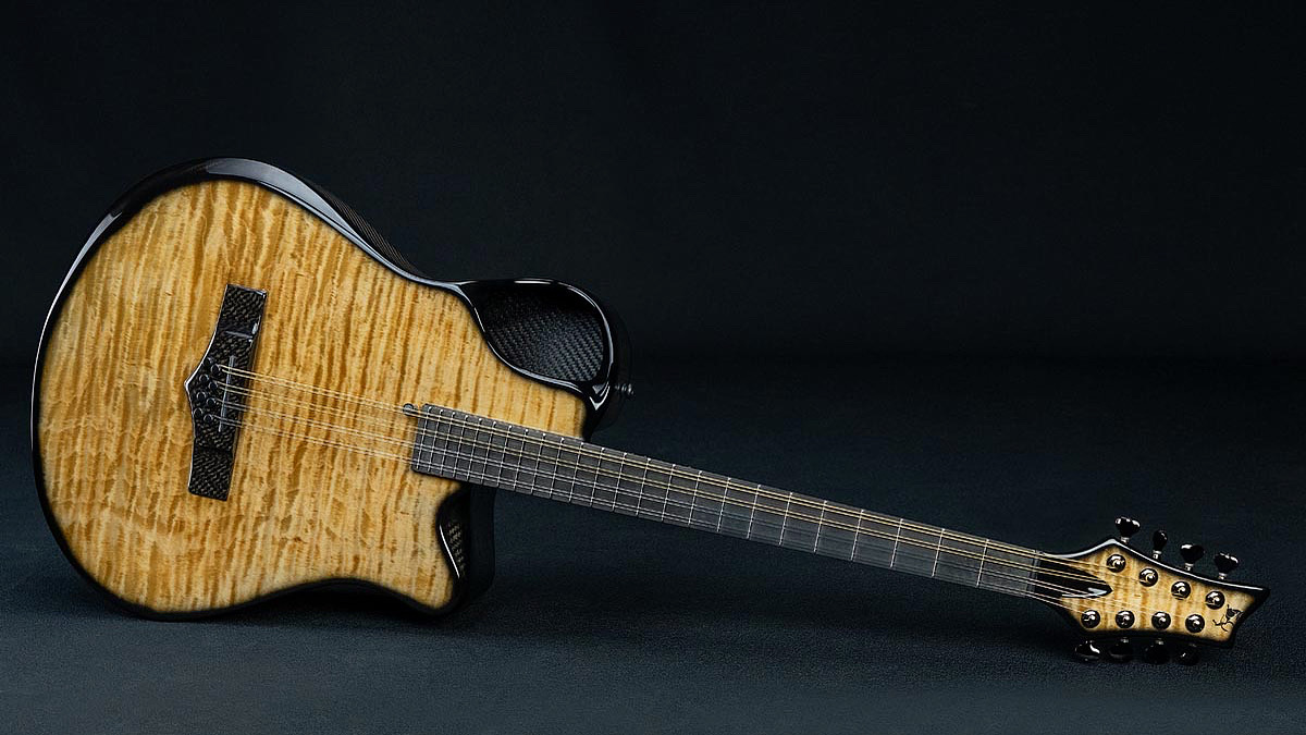Emerald Guitars Carbon Fibre Bouzouki